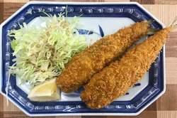 諫早ランチ 竹野鮮魚 イワシ梅しそフライ.jpg